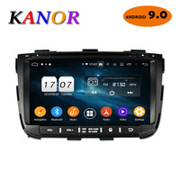 KANOR Octa Core IPS Android 9.0 RAM 4g 32g ROM 2 din Car Radio For KIA Sorento 2013 GPS Radio WIFI Bluetooth Map USB Audio
