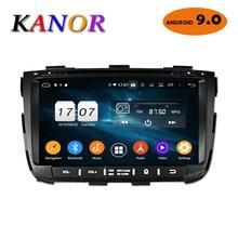 KANOR Octa Core Android IPS 9.0 MB di RAM 4g 32g ROM 2 din Autoradio Per KIA Sorento 2013 GPS Radio WIFI Bluetooth Mappa USB Audio