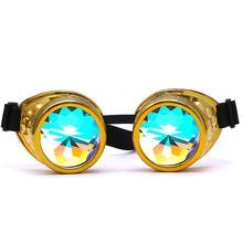 75604a7aea671 Snowshine4  5003 Caleidoscópio Colorido Óculos Rave Partido Festival EDM  óculos de Sol Lente Difratado frete grátis