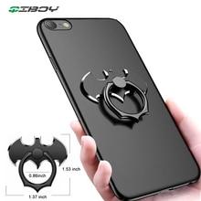 Batman Finger Ring Mobile Cell Phone Desktop Holder Mount For iPhone X Samsung Bat Metal Smartphone 360 Degree Rotate Desk Stand