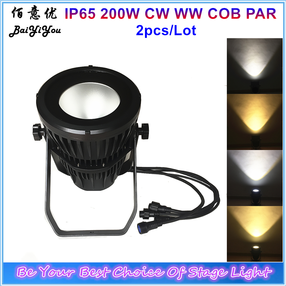 Back To Search Resultslights & Lighting Stage Lighting Effect Delicious 2x Ip65 200w Led Cob Waterproof Par Can Aluminum Housing Cool/warm White Led Outdoor Cob Par Light For Stage Theater Studio High Quality Materials