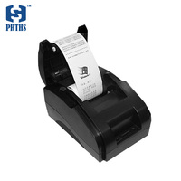 POS58 bill printer 90mm/s thermal receipt printer with paper and win10 driver for business printing mini impressora HS 589KU