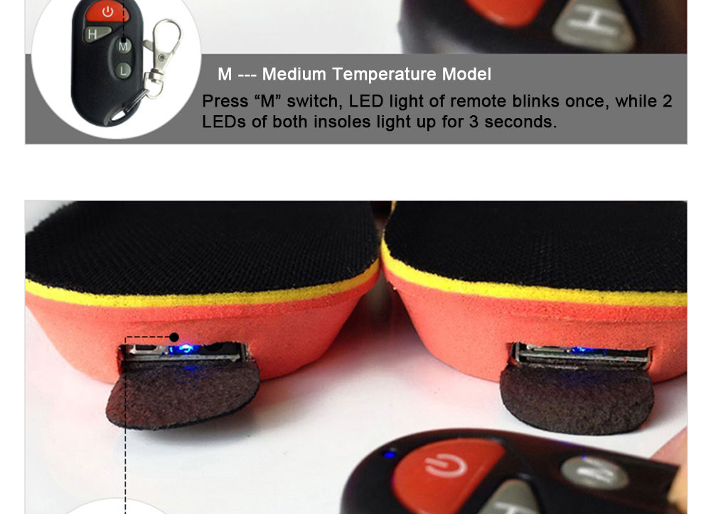 Wireless Controll Electric Heated Insoles_13