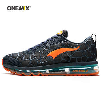 ONEMIX Men Running Shoes for Women Nice Run Athletic Trainers Navy Zapatillas Sports Shoe Max Cushion Outdoor Walking Sneakers 7 - DISCOUNT ITEM  53% OFF All Category
