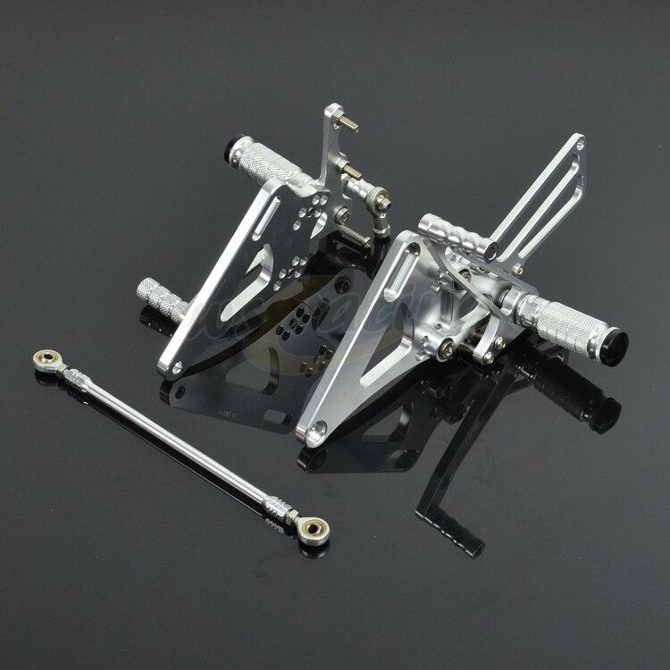 Здесь продается  CNC Adjustable Motorcycle Rear sets Billet Foot Pegs Pedals Rest Footpegs For YAMAHA XJR400 1993-2007 Motorbike  Автомобили и Мотоциклы