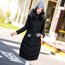 2017 Rushed Full Zipper Broadcloth Adjustable Waist Ukraine Cotton Long Jacket New Winter Collar Coat Casual Trench Windbreaker