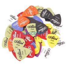60pcs Alice Guitar Picks Puas Multi Matte ABS Custom Guitarra Pics Plectrum Accessories Guitarist Musical Instrument Guitarpicks