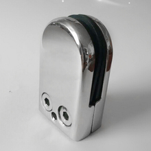 WSFS Hot Sale 4X Stainless Steel Glass Clamp Holder For Window Balustrade Handrail 53*33*20 mm
