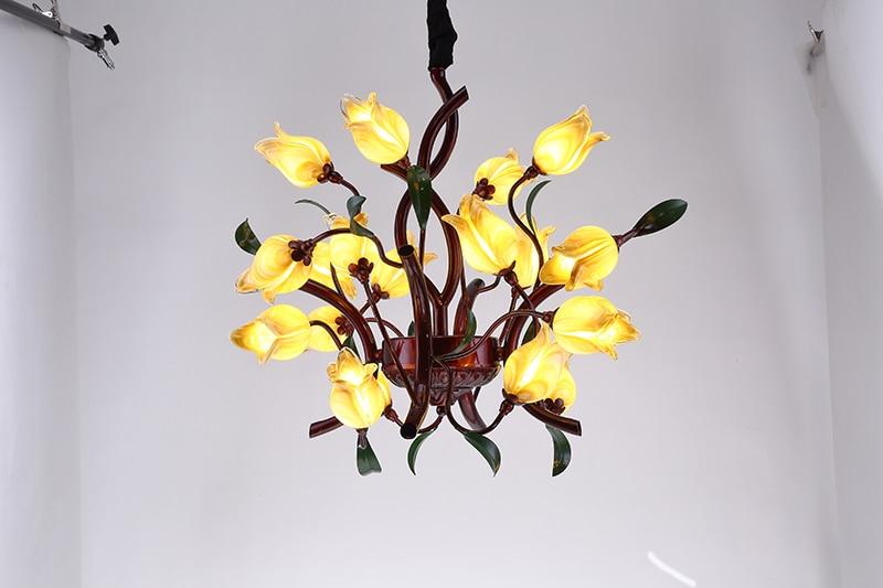 Moderne Neue LED Italien Design Mit Glas Und Eisen Hängen Lampe Für  Hauptdekoration Wohnzimmer Esszimmer In Moderne Neue LED Italien Design Mit  Glas Und ...