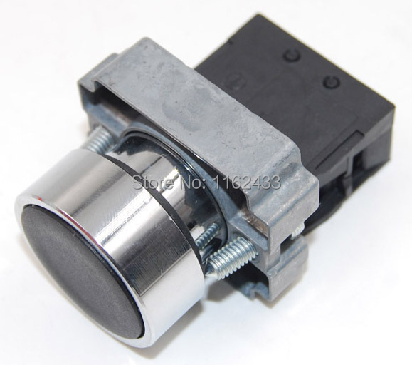 Off Round Push Button Switch SPST pushbutton XB2-BA42 22mm Reset ON