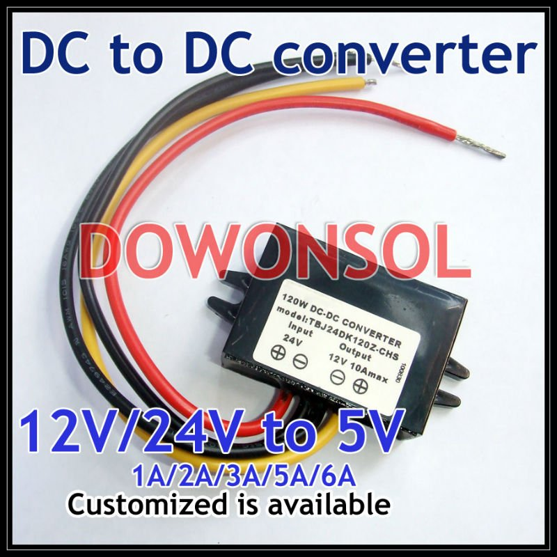 DC Buck Converter Diminuarea 12V la 5V 3A 15W Mașină LED Sursă de - Accesorii de iluminat