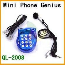 Мини-телефон genius QL-2008 позволяет использовать личные руки бесплатно, легкий и компактный размер, чтобы свободные руки
