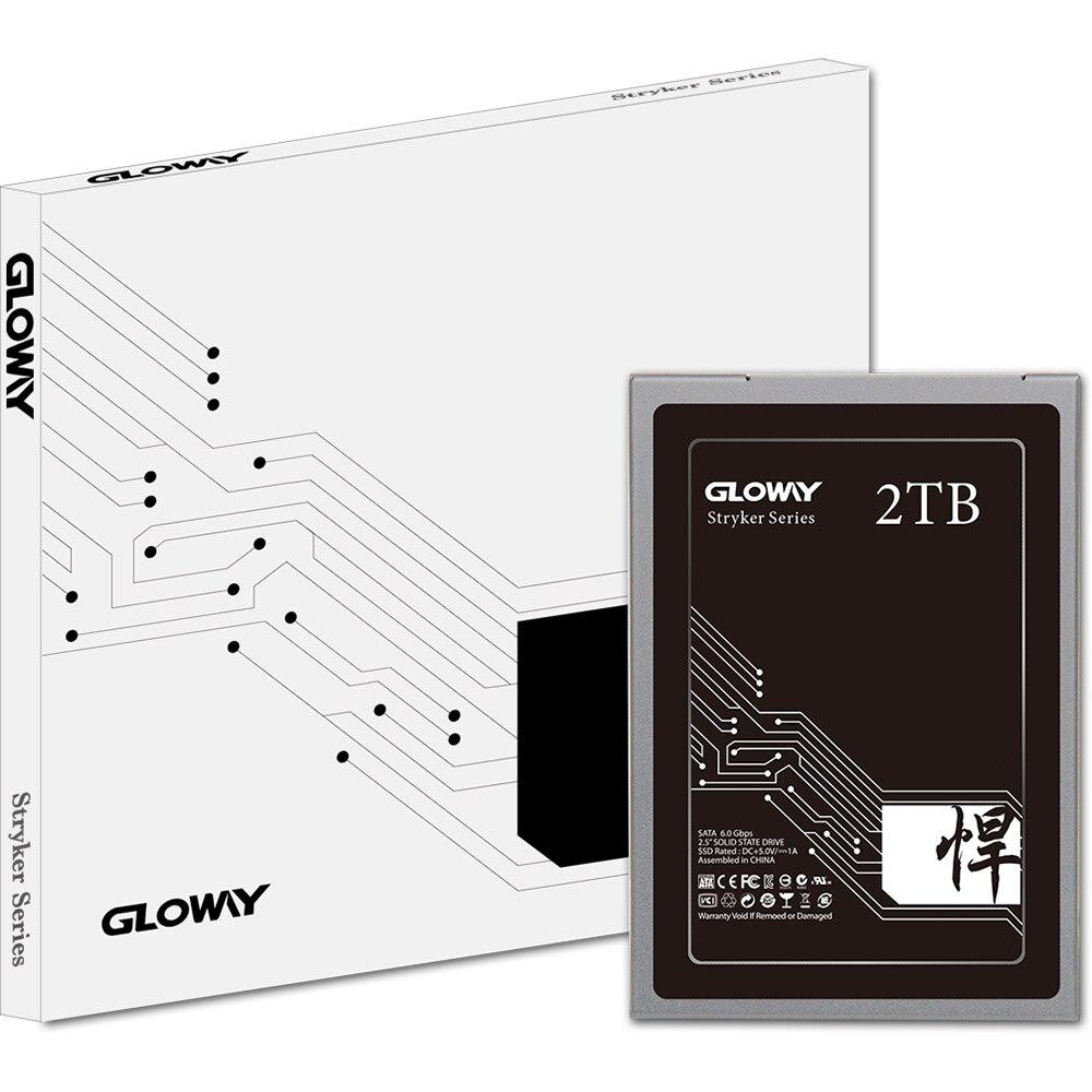 Gloway vente 2.5 SATA III 6 GB/S SATA 3 hd SSD 480 GB 240 GB 2 to disque dur à semi-conducteurs disque dur SATA3 SSD 720 GB livraison gratuite - 6