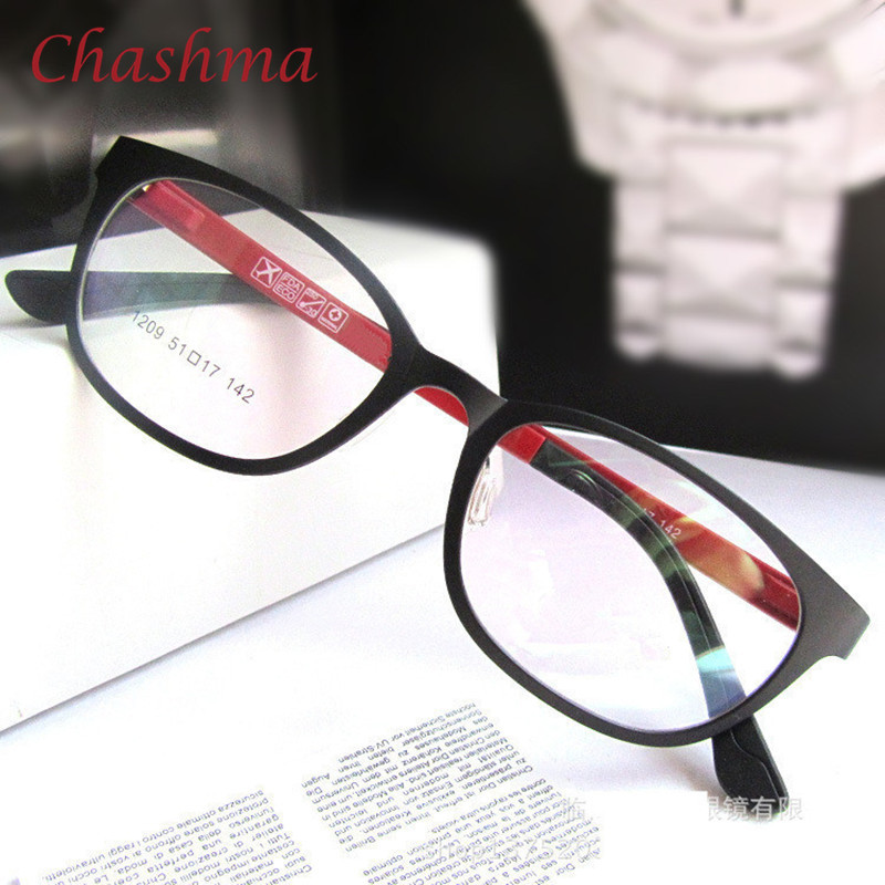 Chashma Marca Mulheres e Homens Luz Rodada Armações Ultem Óculos Moda  Elegante óculos de Miopia Quadro b07a5dac59