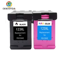 123 Ink Cartridges Refilled Replacement for HP 123 123xl for Deskjet 1110 2130 2132 2133 3630 3632 3638 4520