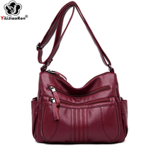 Brand Leather Shoulder Bag Female Designer Fashion Double Zipper Crossbody Bags for Women Luxury Messenger Bag Sac A Main Clutch футболка bluzka цвет молочный