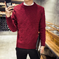 2016 New Autumn Fashion Brand Men Sweaters Pullovers Knitting Thick Warm Designer Slim Fit Casual Knitted plus size M-5XL