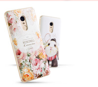 Hot New Xiaomi Redmi Note 4X Luxury 3D Soft Silicone Relief Case Back Cover Phone Case