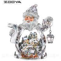 ZOOYA 5D DIY Diamond Embroidery Christmas Landscape Snow Diamond Painting Cross Stitch Full Drill Rhinestone Mosaic