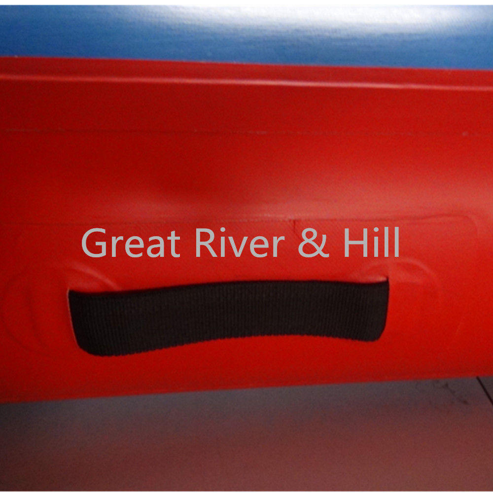 Great river & hill training mats air track good elasticity for gymnastics with fedex shipping and tax 6m x2m x20cm