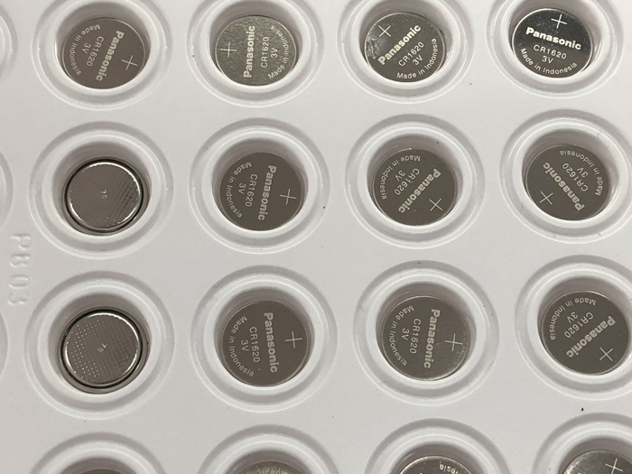 40pcs lot Panasonic CR1620 BR1620 DL1620 ECR1620 CR 1620 3V Lithium Batteries Cell Button Coin Battery in Button Cell Batteries from Consumer Electronics