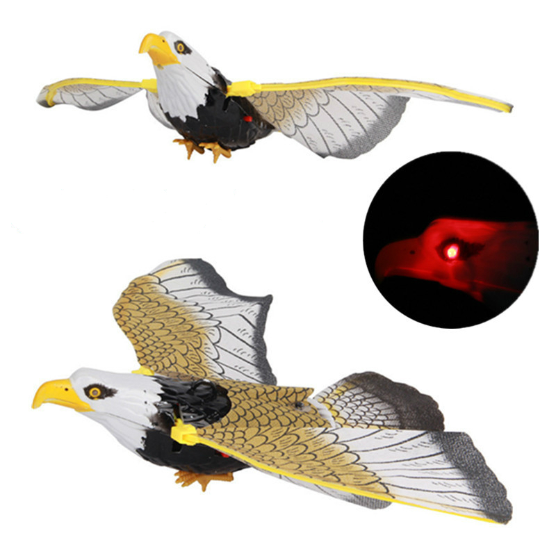 A 360 Degree Rotating String Parrot Electric Hovering Eagle Bird Toy Electronic Toys Electronic Pets