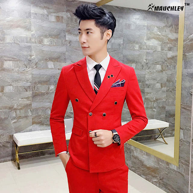 42198bee3 placeholder Royal Blue Mens Suits Slim Fit Plus Size 4XL Latest Coat Design  Double Breasted Tuxedo Prom