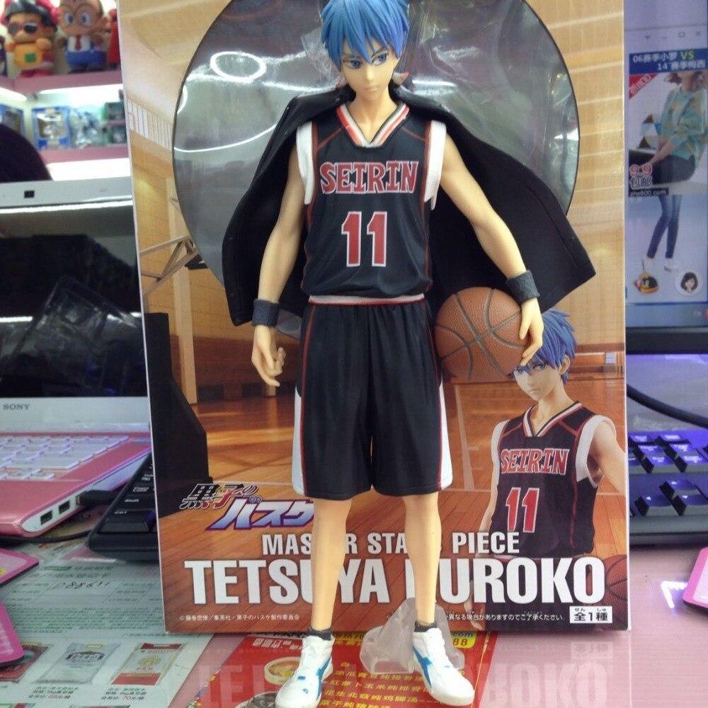 Kuroko No Basket Action Figure ToysKuroko Tetsuya Stand Anime Kuroko No Basuke Figure PVC 260mm Japanese Kuroko Tetsuya Basket
