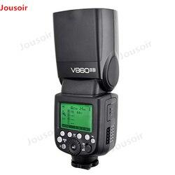 Godox V860II-S E-TTL HSS 1/8000 akumulator litowo-jonowy lampy błyskowej Speedlite Flash + X1T-S Trans mi tter dla S DSLR A7R A7RII A58 a99 A6000 mi ShoeCD50