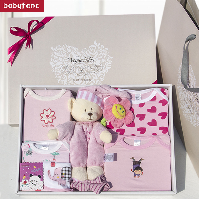Newborn gift box 7pcs set 7-9 Months 0-3 Months 4-6 Months Cotton Animal Newborn Baby Clothes Gifts Toy Gift Set brand new 220v heat and cold home oil press machine peanut cocoa soy bean oil press machine high oil extraction rate page 4