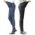 Primavera denim calças barriga cuidado personalizado cortar buraco elásticas Calças finas pés Magros Maternidade