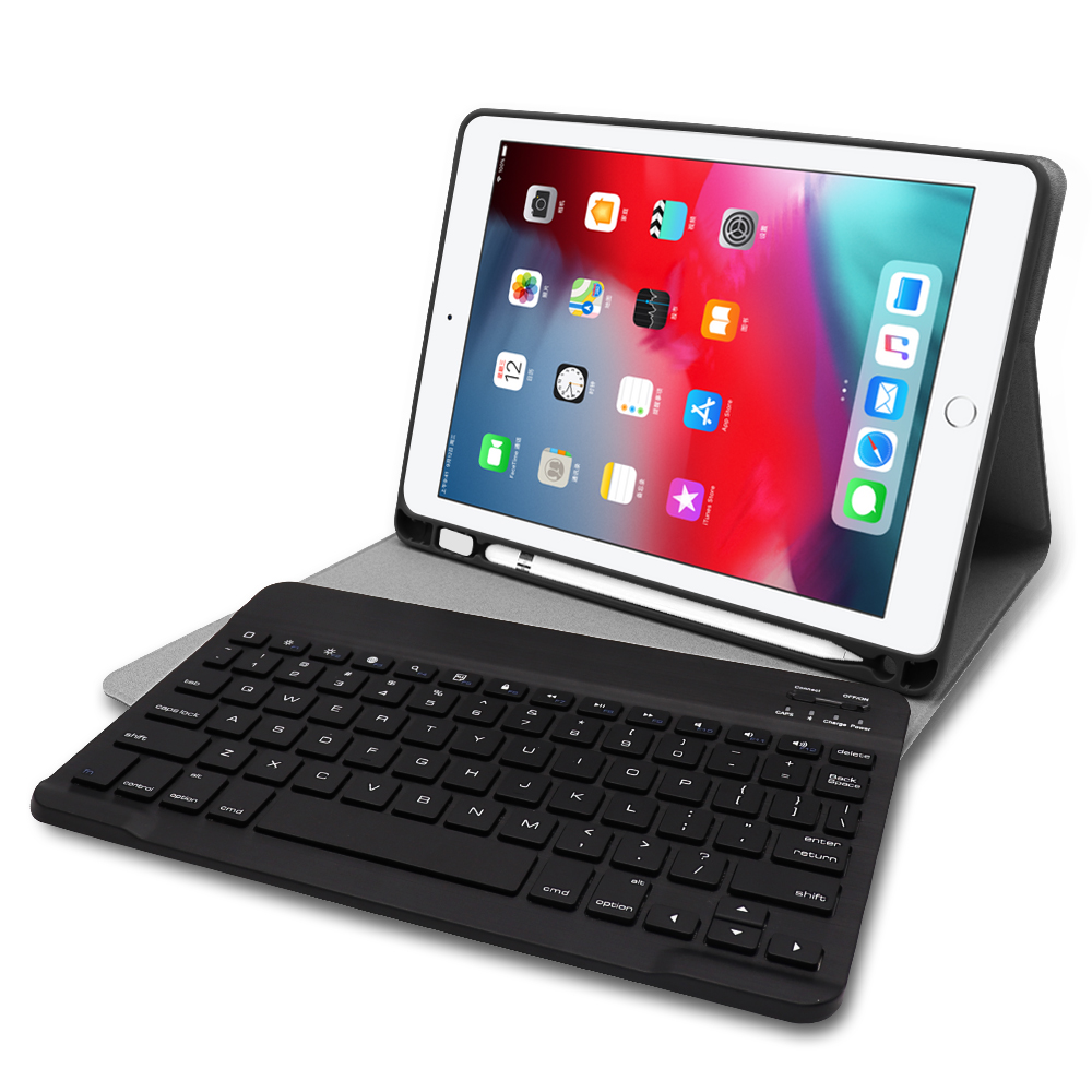 Kemile For iPad mini 5 Keyboare W pencil holder Leather Protective Case stand Cover For iPad mini 4 5 7 9 Keyboard Keypad klavye in Tablets e Books Case from Computer Office