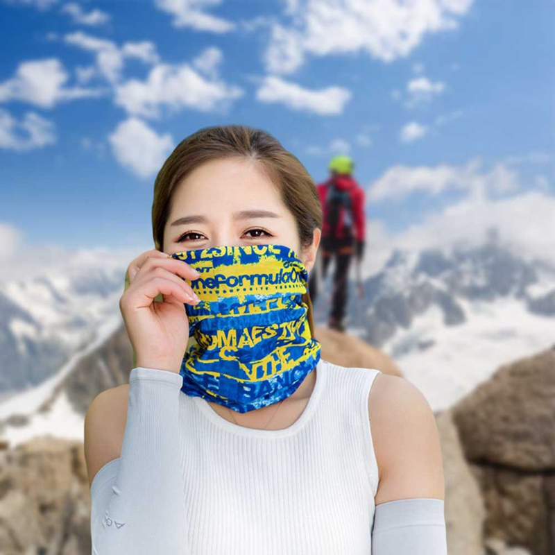 2018 Newest Multifunctional Headband Neck Scarf MaskOutdoor Sport Cycling Bandana Seamless Outdoor Cycling Scarf Mask Women все цены