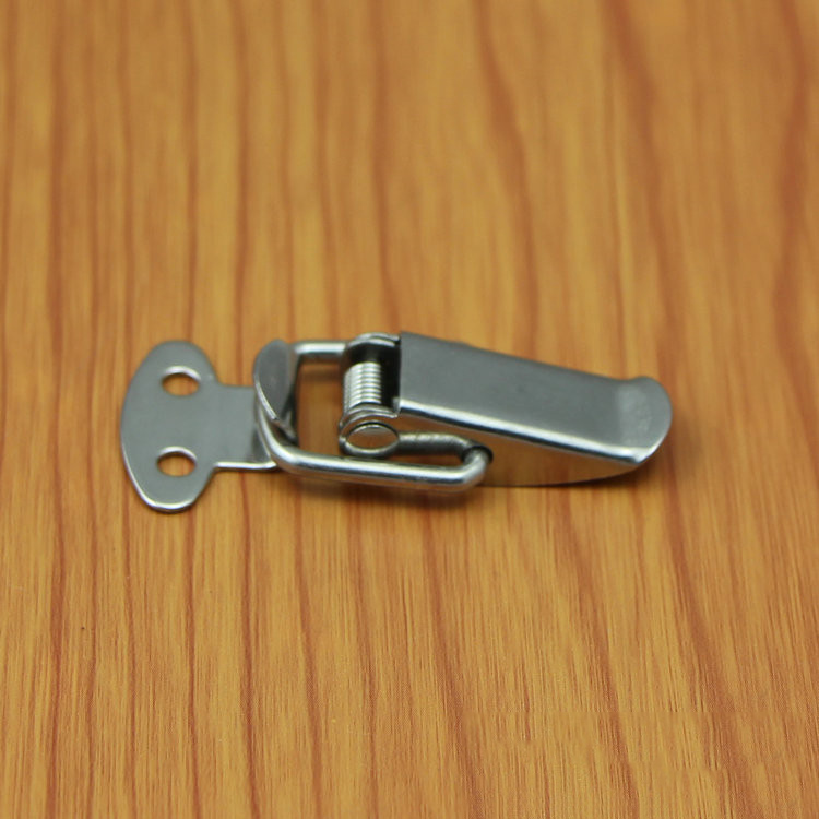 Saim Stainless Steel Case Chest Box Spring Draw Toggle Latch Catch Hasp 4 Set