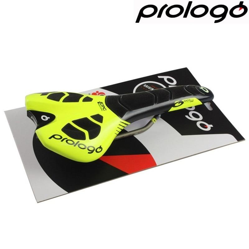 купить Prologo Original NEW CPC NAGO EVO TiroX 134 TINKOFF TEAM Edition Ultralight Racing Road Bike Saddle Cycling Carbonfibre Saddle недорого