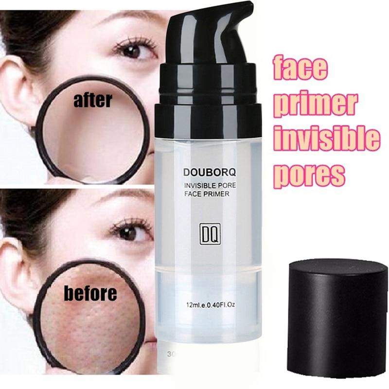 12ml baza do twarzy makijaż baza pod kontrolą oleju wybielanie niewidoczny olej do twarzy baza do makijażu twarzy podkład 3