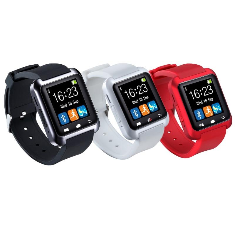 Reloj inteligente reloj de pulsera digital Bluetooth U80 para iPhone - Relojes para hombres - foto 3