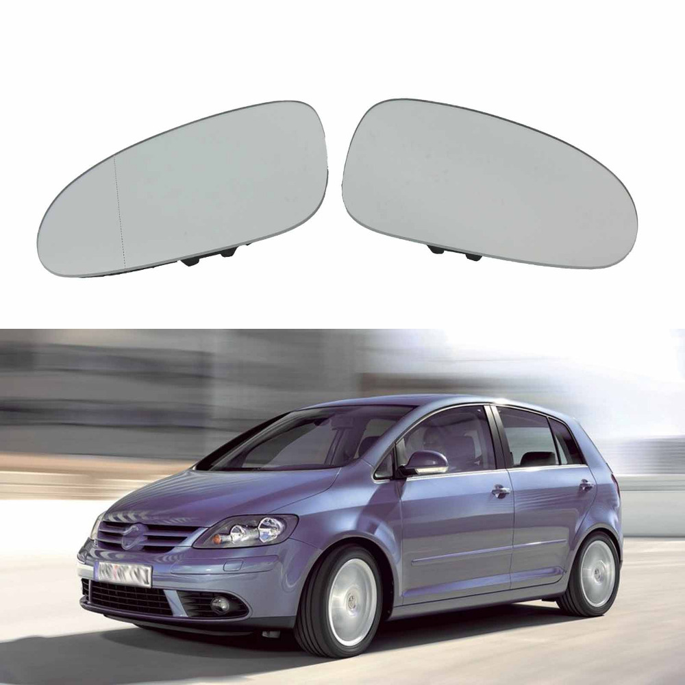 US $15 76 34% OFF|For VW Golf 5 V MK5 Plus 2005 2006 2007 2008 2009 2010  2011 New Car Door Side Mirror Glass Heated-in Interior Mirrors from