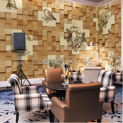 Custom papel DE parede 3 d, wood grain texture to the sitting room sofa TV wall paper waterproof embossed wallpaper custom papel de parede infantil see graffiti mural for sitting room sofa bedroom tv wall waterproof vinyl which wallpaper