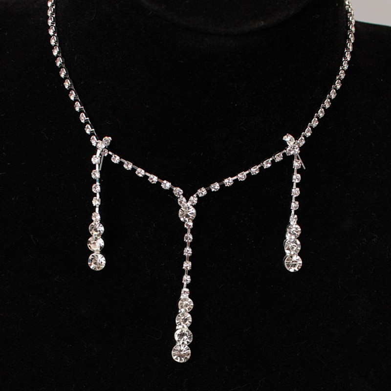 Online Get Cheap Simple Wedding Necklaces Aliexpress Com