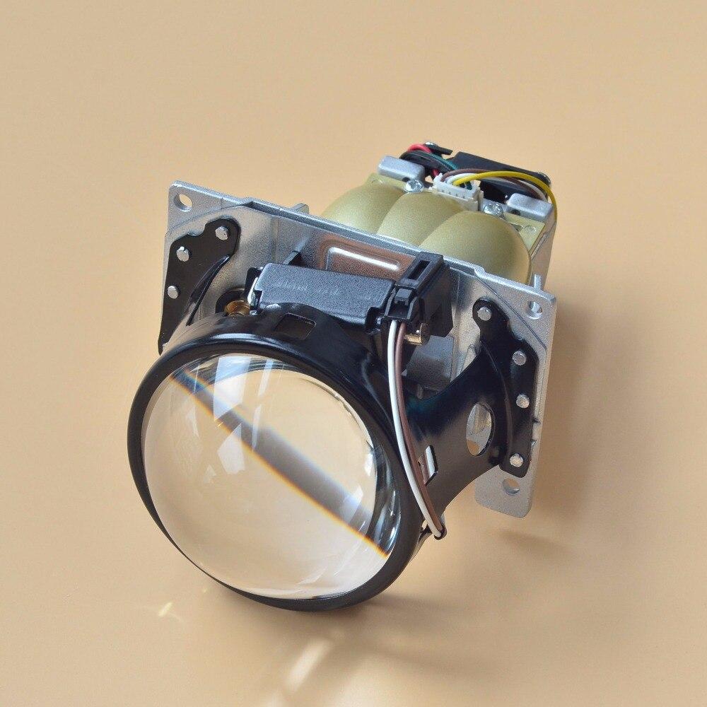 Original LED Q5 projecteur lentille Bixenon phare modèle inclus le lumière LED, voiture projecteur LED lentille 2 pièces