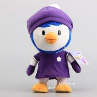 Милый Пингвиненок Пороро мягкие Куклы фиолетовый Пороро Петти плюшевые Игрушечные лошадки 12