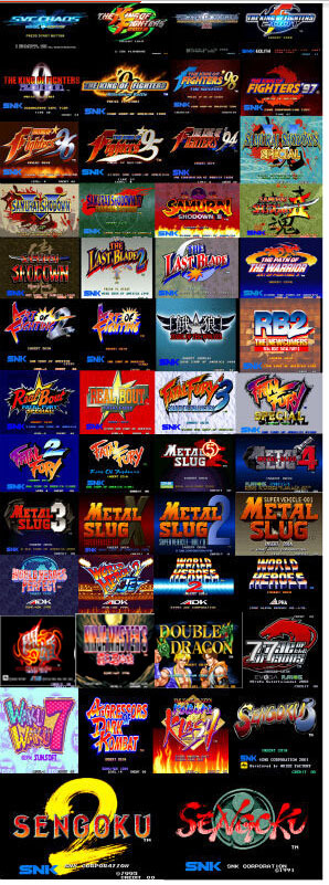 Free shipping SNK NEO GEO X GOLD Limited special latest handheld game card sets vol1, containing 50 games!