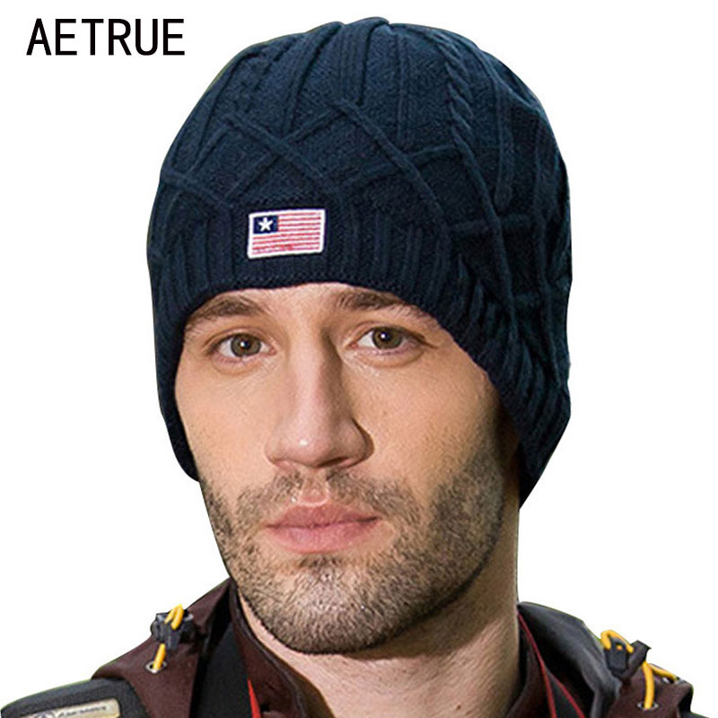 Skullies     Beanies   Knitted Hat Men Winter Hats For Men Bonnet Gorras Stripe   Beanie   Mask Soft Male Balaclava Winter   Beanie   Hat Cap
