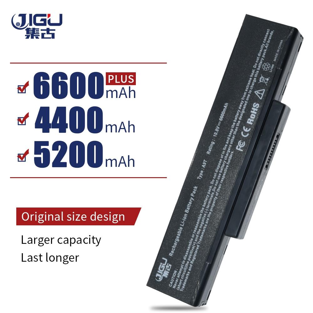 Bateria JIGU A32-F2 A32-F3 A32-Z94 A32-Z96 BTY-M66 SQU-528 Para Asus Z53 M51 Z94 A9T F3 F3S F3K F3T F3SV F3JR f3JA F3E F3KE