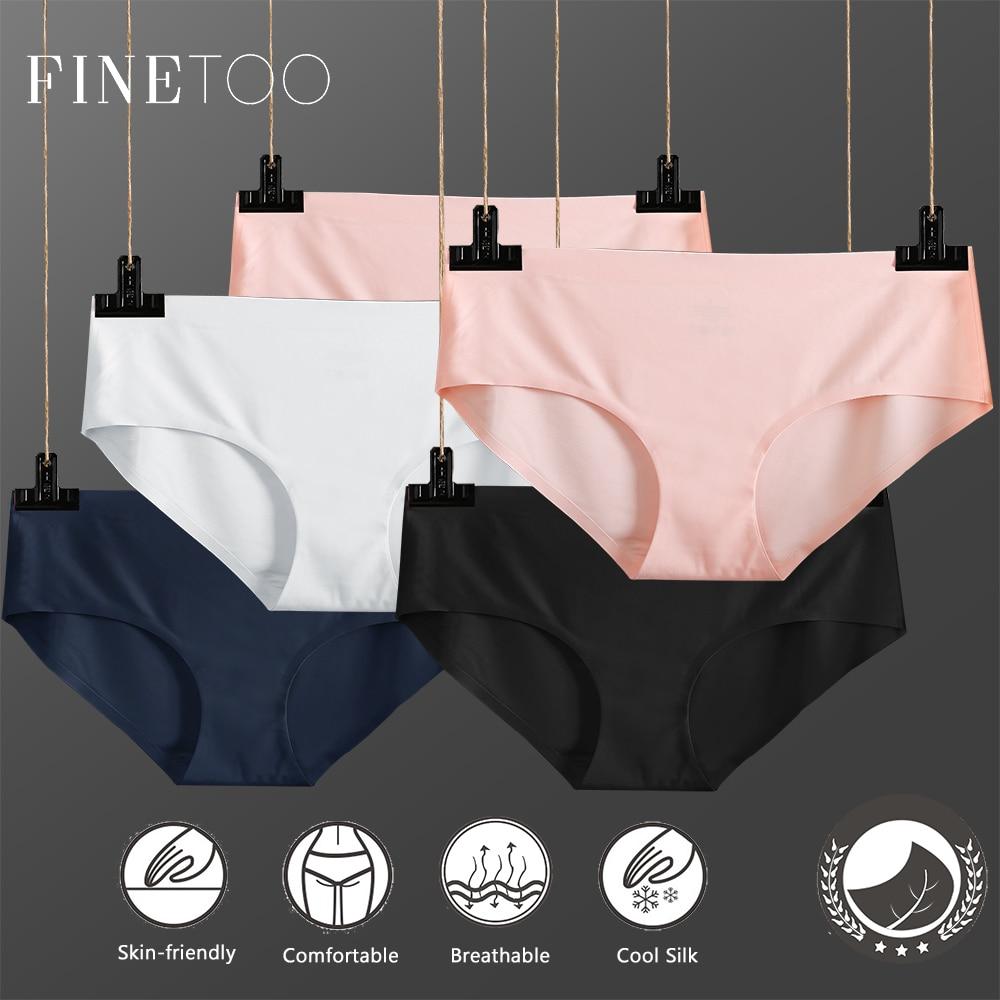 Sexy Seamless Underwear Women   Panty   Soft   Panties   Set For Female 4 Color Skin-friendly   Panty   Comfort Lingerie Women's Briefs