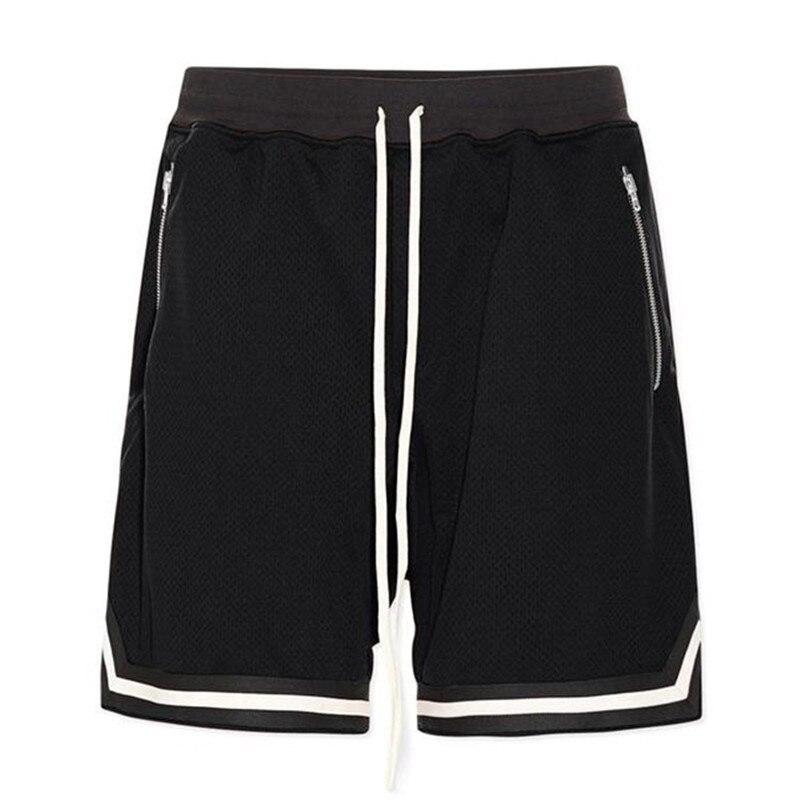 2019 nowa modna, patchworka szorty do koszykówki ściągany sznurkiem w pasie szybkoschnący trening siatkowe spodenki męskie spodnie dresowe luźne spodenki