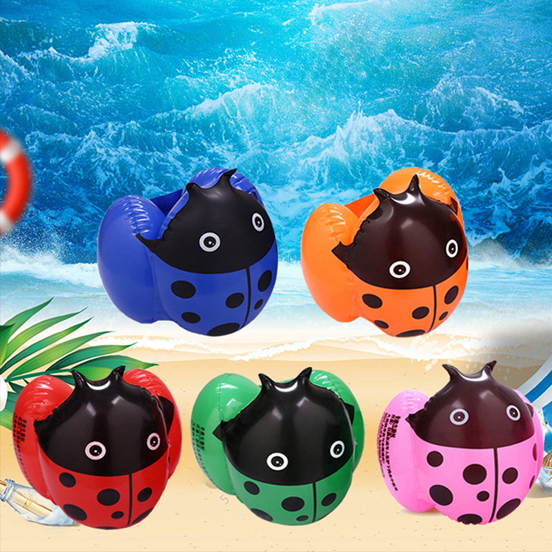 Kids Child Inflatable Floating Swimming Arm Circle Swim Buoy Ring Children Aid Float Pool Safety Swimming Pool Training