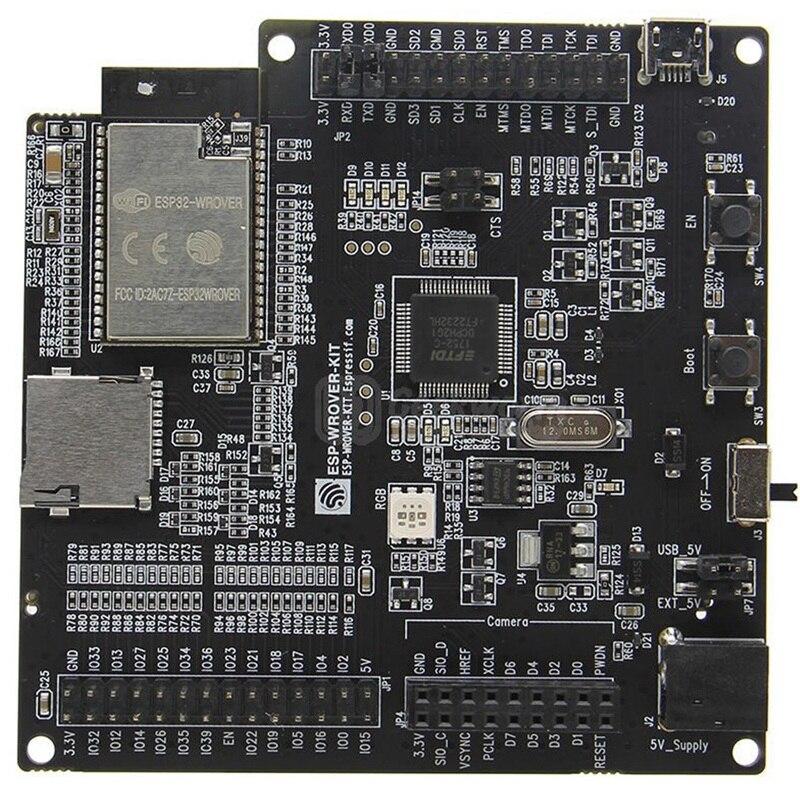 HOT-Esp-Wrover-Kit V4.1 Espressif Esp32 carte de développement de Wrover avec Wifi sans fil Bluetooth avec écran Lcd couleur 3.2 pouces