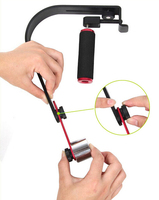 CS S1 Video Studio Camera Steady Stabilizer Handheld DSLR Grip + 36 LED Adjustable White Lamp Light +FS Drone Accessory F11301 A